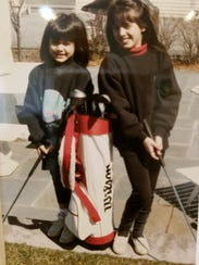 Sisters Lauren and Vanessa Picciotto learned golf at