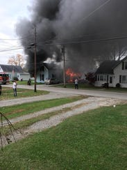 A Sunday morning fire destroyed the home of a Bethel
