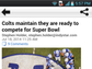 IndyStar Indianapolis Colts Android app.