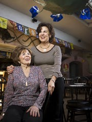 This 2009 photo shows Maria Corral and her mother Maria Elena Corral, 80, who opened Los Olivos in Scottsdale with her husband Alvaro. Photo by Jill Richards/Arizona Republic