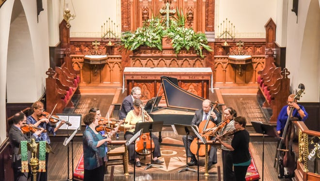 The Bach Parley in performance.