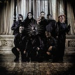 Slipknot will perform Wednesday at the Pensacola Bay Center.