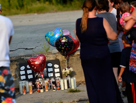 Friends and family of murder victim Ruby Mercado gather