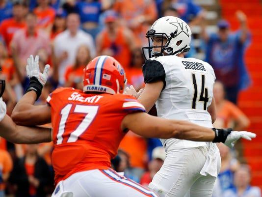 NCAA Football: Vanderbilt at Florida
