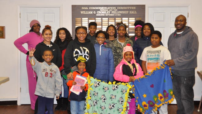 The members of MOOD and some of their family members and friends answered the national call to service to celebrate the legacy of Dr. Martin Luther King Jr. on Jan. 18.