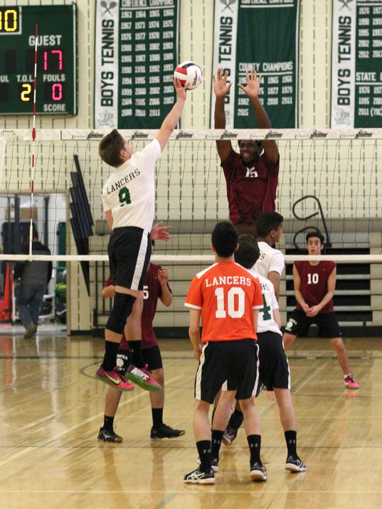 Bloomfield boys volleyball