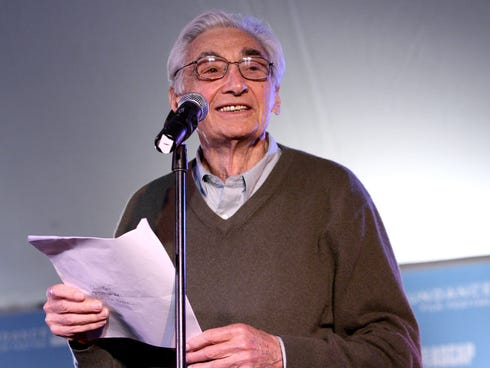At a 'read in' at Purdue University in West Lafayette, Ind., on Tuesday, Nov. 5, 2013, it was announced that a Howard Zinn Memorial Research Award has been started at the school.