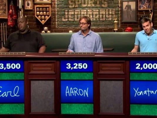 Sports Jeopardy column main art