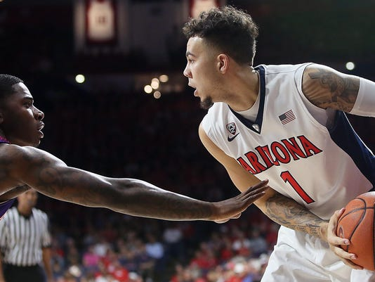 Arizona basketball Gabe York