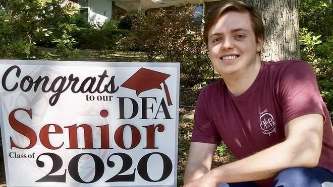"""Edward """"Miller"""" Vaughn believes Davidson Fine Arts School has taught him how to handle the extreme work load that helped him be selected a Georgia Scholar."""