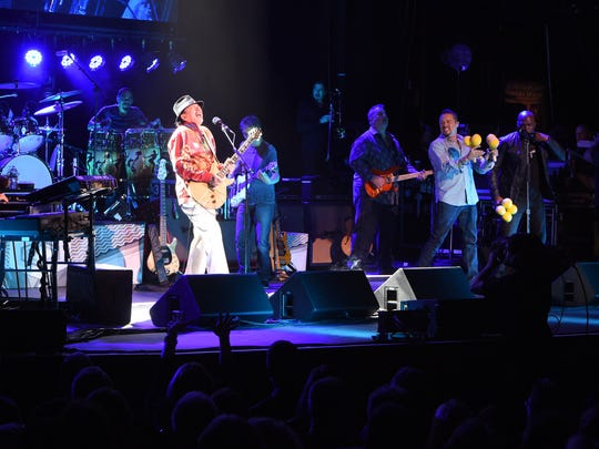 Carlos Santana plays the Bardavon 1869 Opera House in the City of Poughkeepsie.