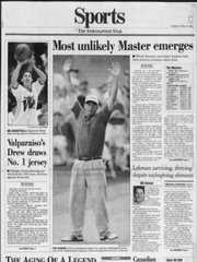 Vanderbilt basketball coach Bryce Drew was named IndyStar Mr. Basketball on April 10, 1994.