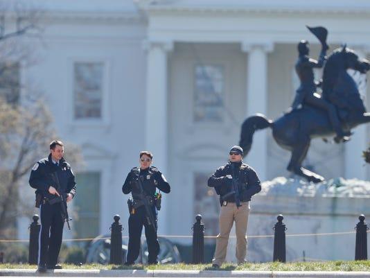 AP WHITE HOUSE SHOOTING A USA DC