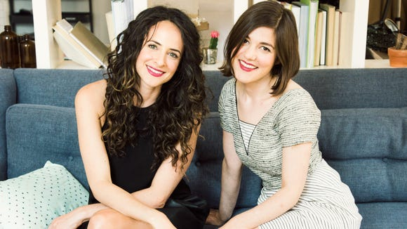 Wilmington native Claire Mazur (left) and Erica Cerulo, founders of indie online design retailer Of a Kind, sold their business to Bed, Bath and Beyond earlier this month.