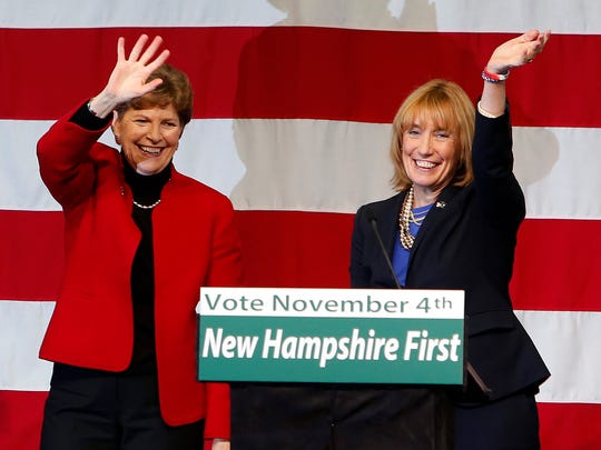 Sen. Jeanne Shaheen, D-N.H., and New Hampshire Democratic