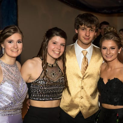 John Edwards High School held its prom on Saturday,