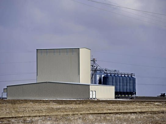 Montana Milling is north of the malting plant along