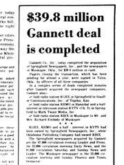 1977: Gannett purchases the News-Leader