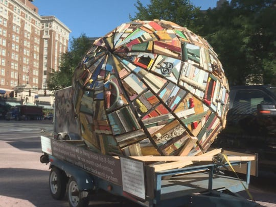 """EMOH,"" Loren Naji's ArtPrize entry arrived in downtown"