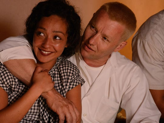 "Ruth Negga and Joel Edgerton star in ""Loving."" The"