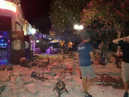 Greece Turkey Earthquake Image