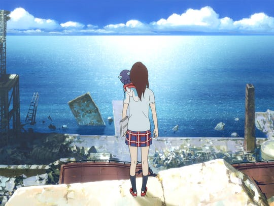 "Kokone realizes the key to finding her father, and her future, lies in her dreams in ""Napping Princess,"" directed by Kenji Kamiyama."