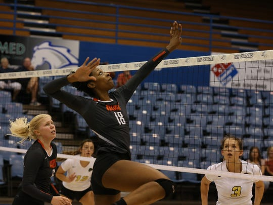 the Warhawks volleyball team ended the season with