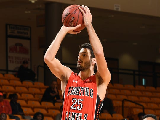 Andrew Eudy is averaging 9.5 points, 4.9 rebounds and