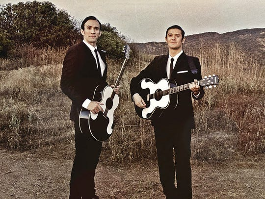 The Everly Brothers Experience featuring The Zmed Brothers will be 8 p.m. Saturday, March 31, at Franklin Theatre.