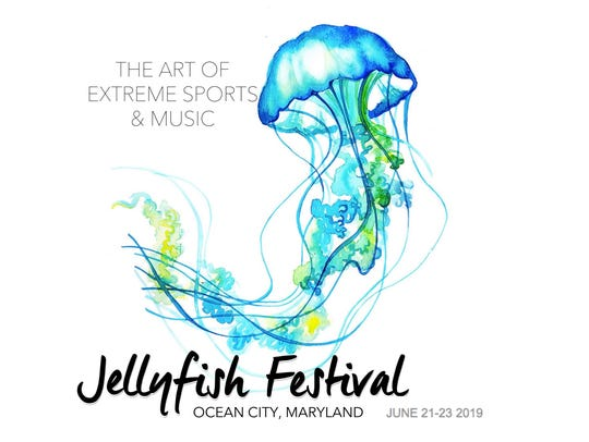 The Jellyfish Festival logo.