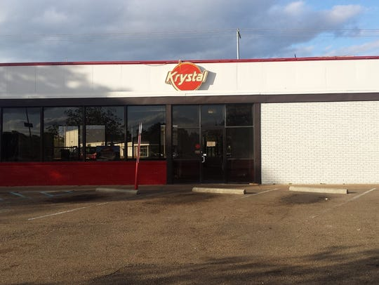 "This ""before"" picture shows the Krystal burger restaurant"