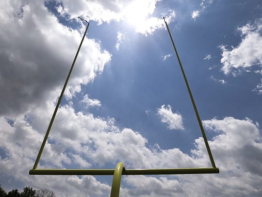 Blue skies ahead: Andrew Luck will practice with the