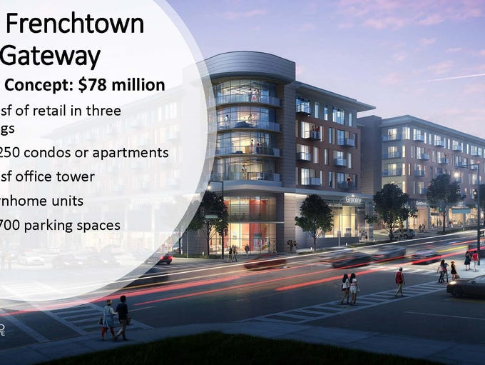 Frenchtown Gateway concept