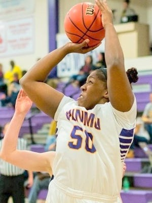 Western's Deandra Williams had a double double Monday night at home. She posted 21 points and 10 rebounds in the Lady Mustangs' win over Northern New Mexico.