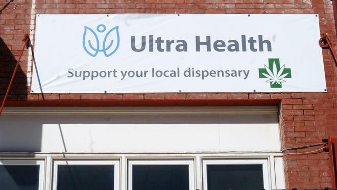 Since 2016, Ultra Health has maintained an empty storefront at 117 E. Spruce as the company fights to open a dispensary here.