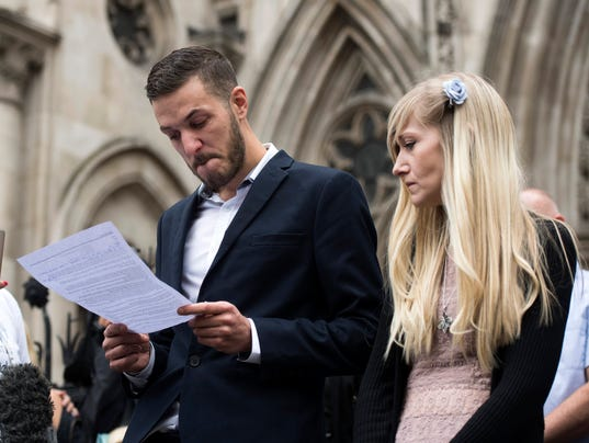 EPA BRITAIN CHARLIE GARD HIGH COURT HEARING CLJ JUSTICE & RIGHTS GBR