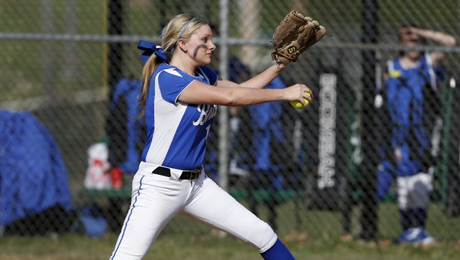 Highlands' Bailey Spencer came back 10 days after an emergency appendectomy to pitch the Bluebirds to a 6-3 win over Boone County Tuesday.