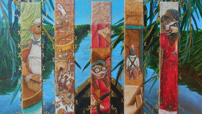 """""""Illuminated Wind in the Willows"""" by Alex Smith of Litchfield Park."""