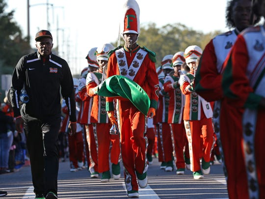 FAMU celebrates Homecoming with an early morning parade on the university's campus Saturday.