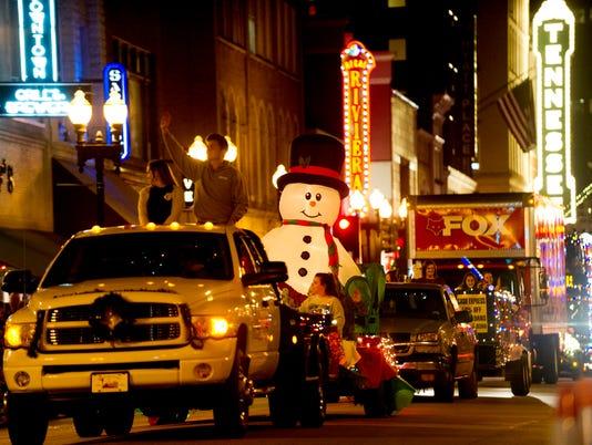 KNS-Christmas parade