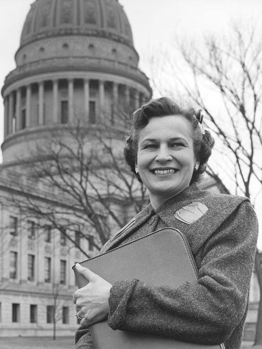 Helen Holt at West Virginia Capitol