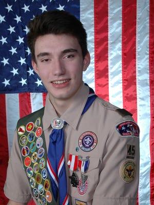 Derek Abbott has earned Eagle Scout, Boy Scouting's highest rank.