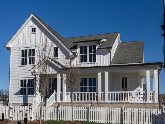 Celebration Homes' model home in Durham Farms is a