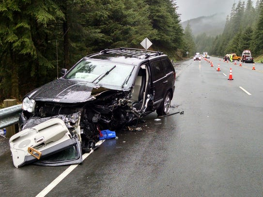 A man was killed in a crash on Highway 26 Sunday, April