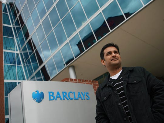 Gopal Bhagia, a tech worker at Barclays Bank from India, is shown on April 7. He spent six years in the U.S. on an H-1B visa and now holds a green card.