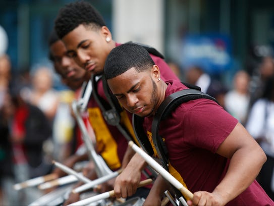 Scenes from the Juneteenth Heritage Parade in White