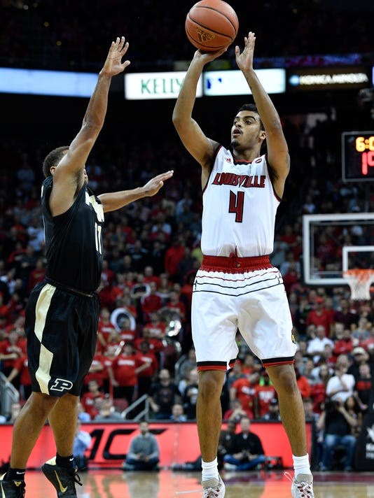 NCAA Basketball: Purdue at Louisville