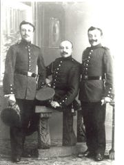 Sigmund, Willis and Isaac Wertheim, brothers of Mary