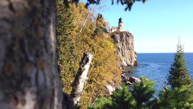 Split Rock Lighthouse is in Split Rock State Park, north of Two Harbors.