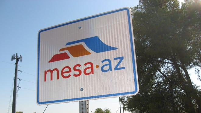 """One sign that you may have been """"born and bred"""" in Mesa."""